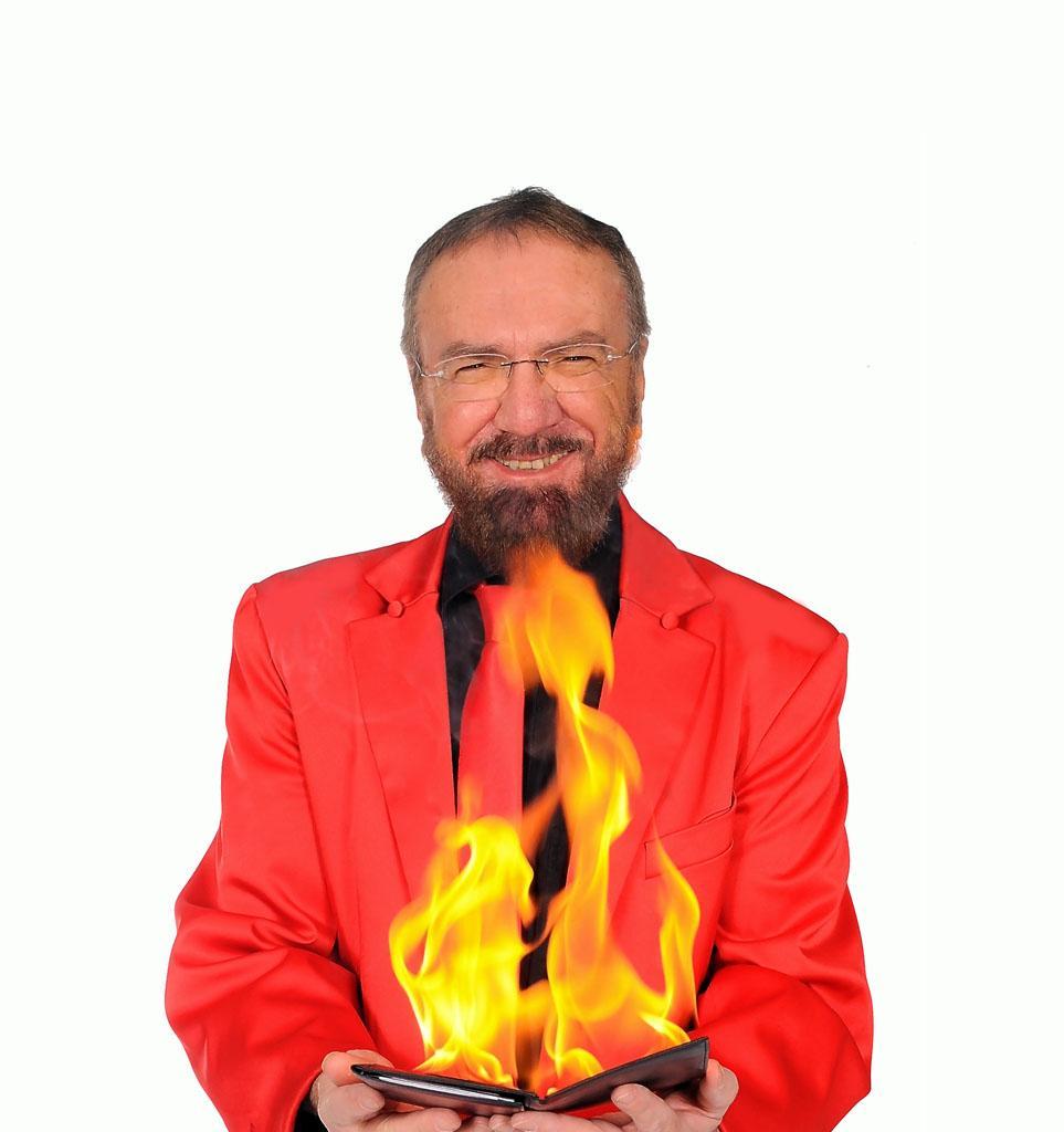 Zauberer Berlin - Flammen